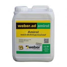 Weber Amirol Waterdicht 2,5 liter