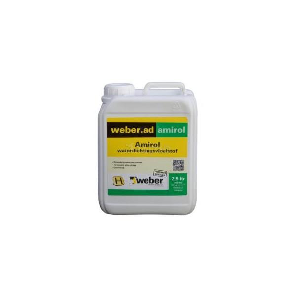 Weber amirol waterdicht 2 5 liter online kopen pieper for Waterglas gamma