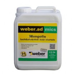 Weber Mengolie (luchtbelvormer) 2,5 liter