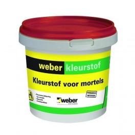 Weber Beton Kleurstof Zwart 1 kg