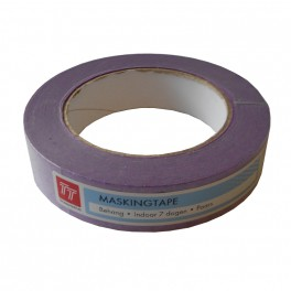 Masking tape Low-Tack Paars 25mm