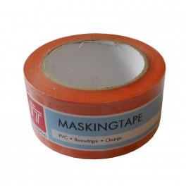 Masking tape Soft PVC Oranje 50mm